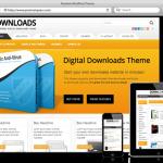 Wordpress Digital Download Theme - WordPress Dijital Dosya İndirme Teması