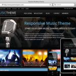 Wordpress Music Theme - WordPress Müzik Teması